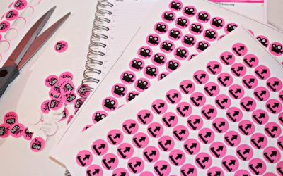 DIY Stickers! How to Make Your Own Stickers